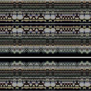 Black Static Stripe