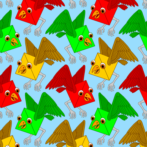 tetrahawk fabric by sef on Spoonflower - custom fabric