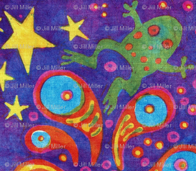 Supernova Frog Party