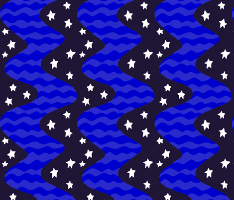 river_dark fabric by kateaustindesigns on Spoonflower - custom fabric