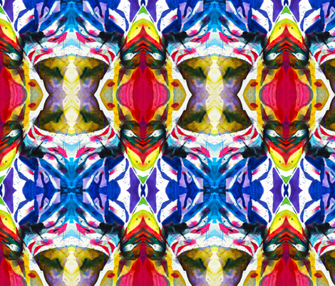 Into the polychrome forrest fabric by prettyhaus on Spoonflower - custom fabric