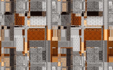 Trinity  patchwork fabric by wren_leyland on Spoonflower - custom fabric