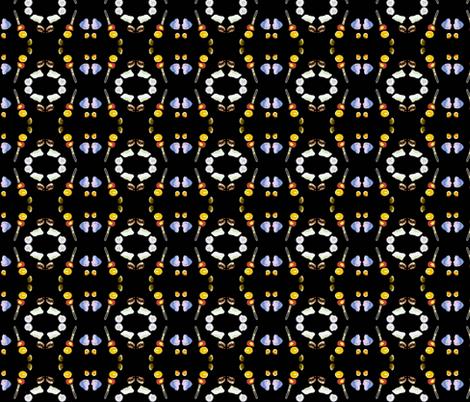 Sea Shells fabric by robin_rice on Spoonflower - custom fabric