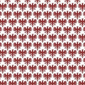 Eagle white red