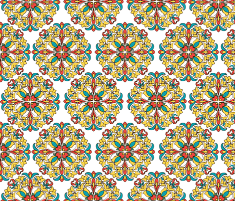 HungarianFloral2012 fabric by nikky on Spoonflower - custom fabric