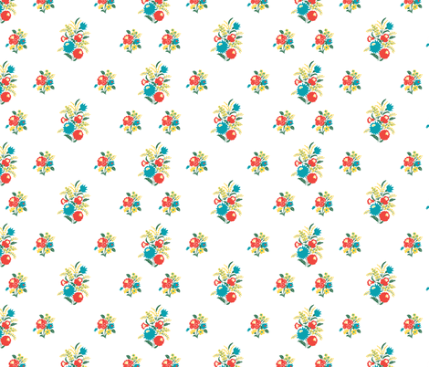HungarianFloralD2012 fabric by nikky on Spoonflower - custom fabric