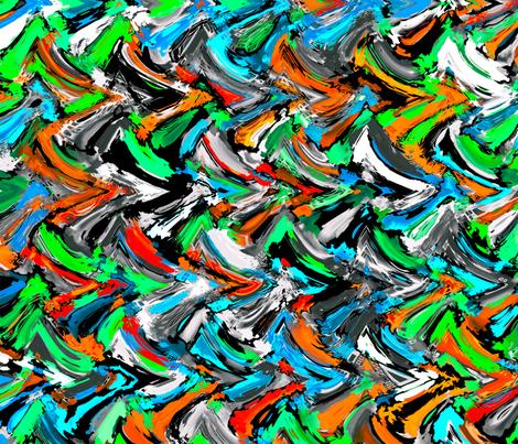 StuccoSea_1_42x36 fabric by k_shaynejacobson on Spoonflower - custom fabric