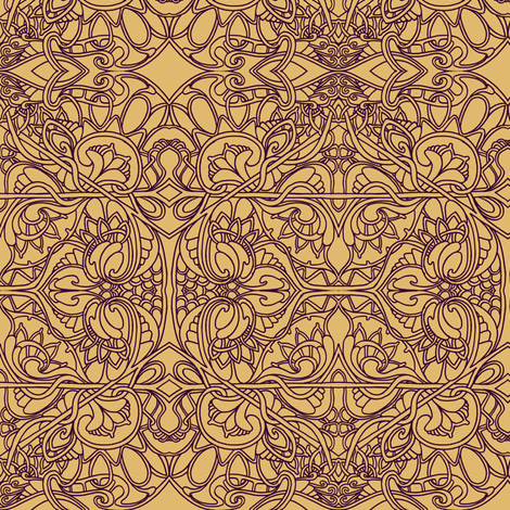 Just the Facts Ma'am fabric by edsel2084 on Spoonflower - custom fabric