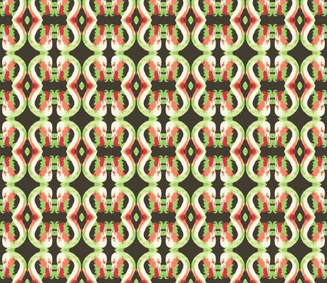 flaming-greens fabric by hillarywhite on Spoonflower - custom fabric