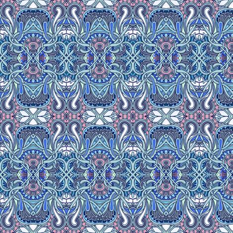 Criss Cross Dental Floss fabric by edsel2084 on Spoonflower - custom fabric