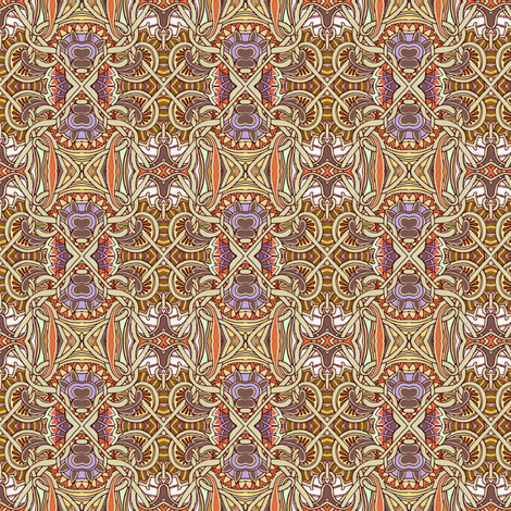 Paisley and Chain Link fabric by edsel2084 on Spoonflower - custom fabric