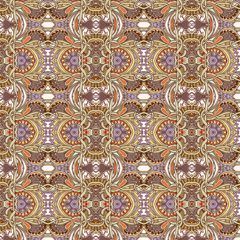 Turkey in the Straw fabric by edsel2084 on Spoonflower - custom fabric