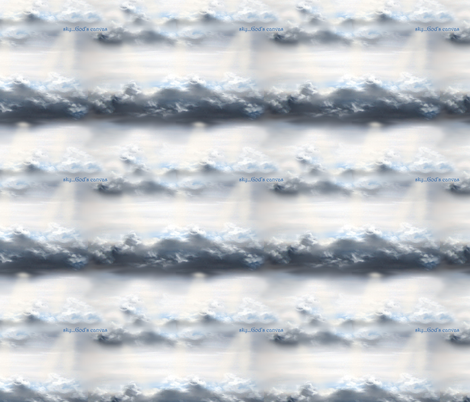 Sky... God's Canvas fabric by timberbells on Spoonflower - custom fabric
