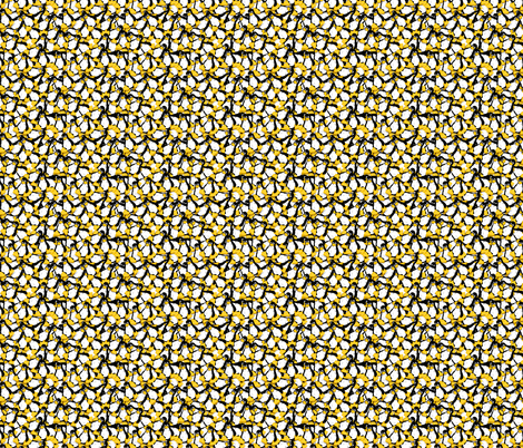 Tux the Linux Penguin (small) fabric by spacefem on Spoonflower - custom fabric