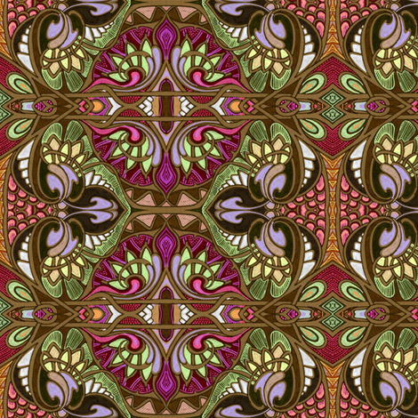 Chocolate Fantasy fabric by edsel2084 on Spoonflower - custom fabric