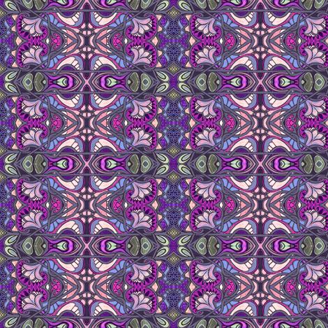 Swiss Miss (purple) fabric by edsel2084 on Spoonflower - custom fabric