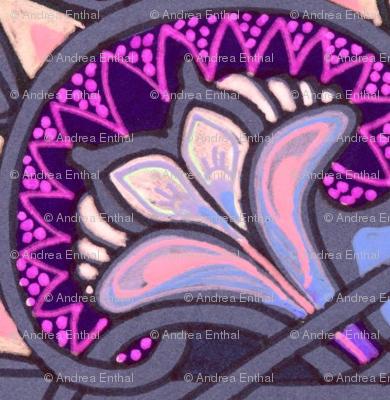 Medieval Crossed Flower