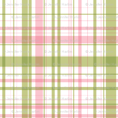 RIDE A BIKE COORDINATING CHECK IN OLIVE AND PINK