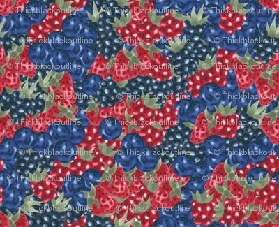 Berries - Sashing