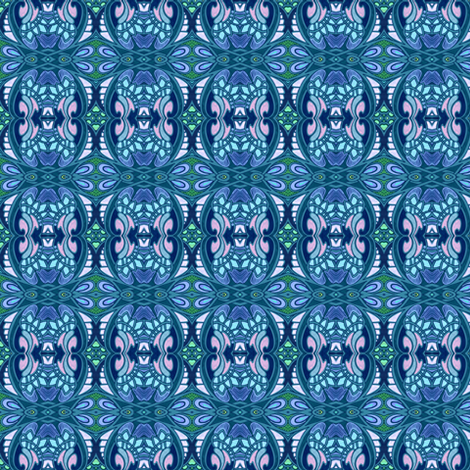 Mirror, Mirror on the Wall (or Bed, or  Tote bag, or Window) fabric by edsel2084 on Spoonflower - custom fabric