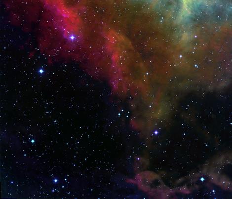 The rosette nebula edited fabric azizakadyri spoonflower for Nebula material