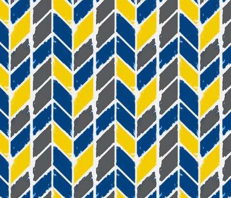herringbonezigzag3 fabric by annaboop on Spoonflower - custom fabric