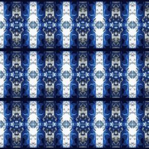 Blue Glass Stripes