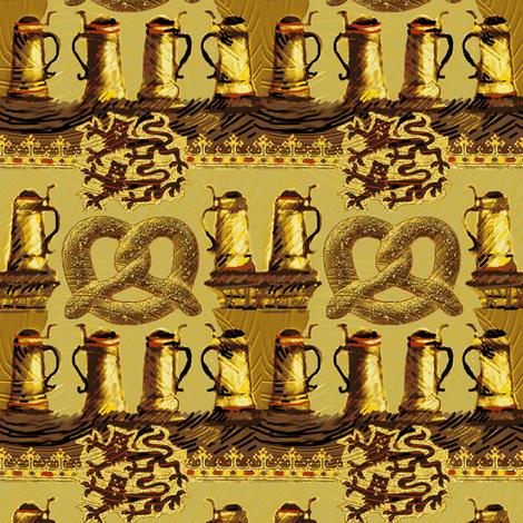Teeny Tiny Stein-y  fabric by wren_leyland on Spoonflower - custom fabric