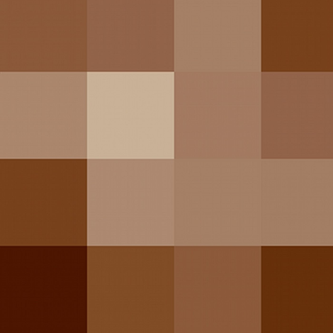 pixel nude 3 fabric by paragonstudios on Spoonflower - custom fabric