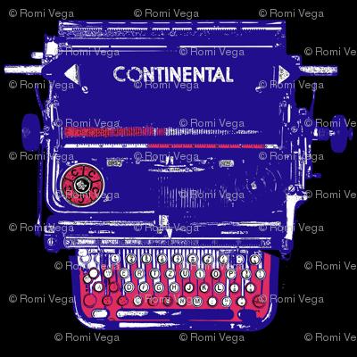 Continental Typewriter