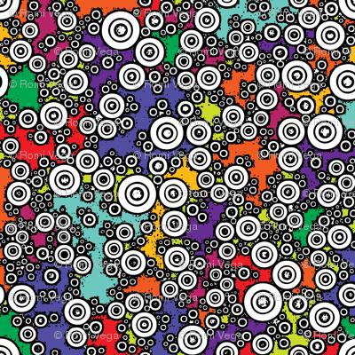 Technicolor Buttons