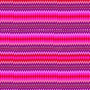 Pink Native Chevron