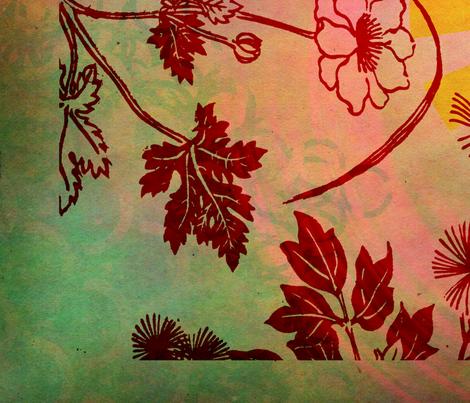 Japanese Edo Period fabric by feebeedee on Spoonflower - custom fabric