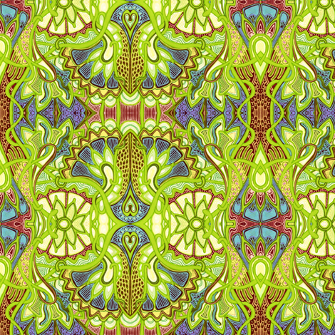 What the Gypsy Told Me fabric by edsel2084 on Spoonflower - custom fabric