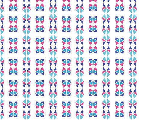 triangle workout fabric by studiojelien on Spoonflower - custom fabric