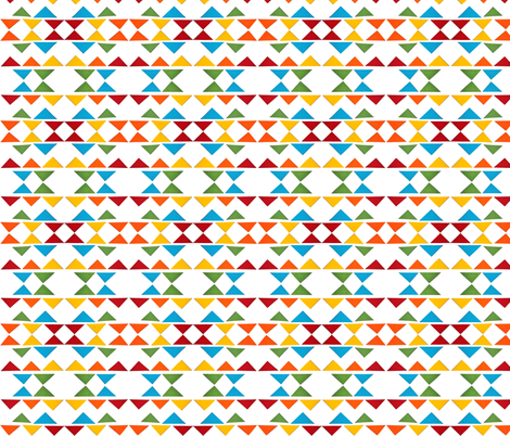 triangle indian drum fabric by studiojelien on Spoonflower - custom fabric