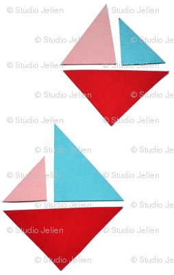 triangle boats
