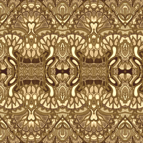 Tooled Leather fabric by edsel2084 on Spoonflower - custom fabric