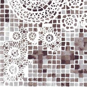 mosaic doily