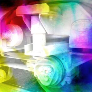 colorful mechanics