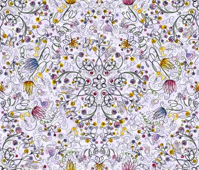 Secret Garden in Lavender  - © Lucinda Wei