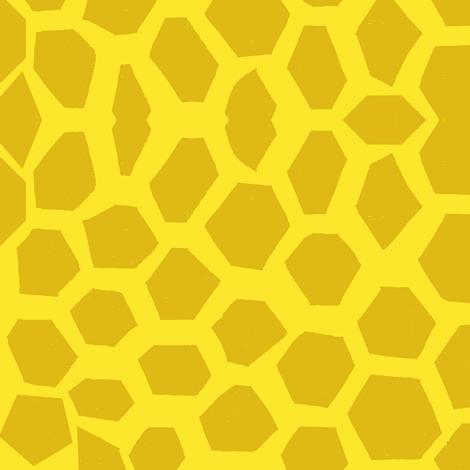 Moroccan Honeycomb fabric by boris_thumbkin on Spoonflower - custom fabric