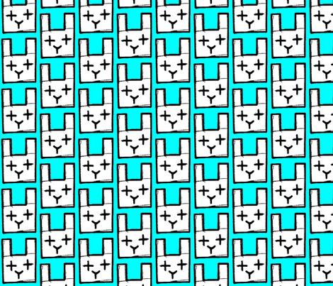 rabit fabric by hotel_radio on Spoonflower - custom fabric