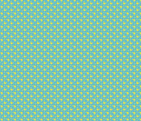 mini lemon fabric by nekanen_designs on Spoonflower - custom fabric