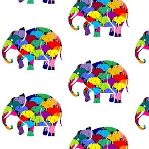 Small Elephant Rush Black