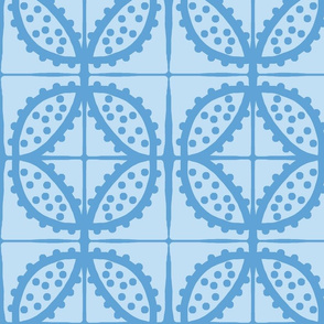 Spotty Pod-like Tile! (sky blue & deep sky blue)