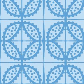 Spotty Pod-like Tile! (sky blue & deep sky blue)