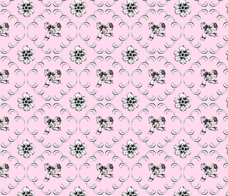 Rococo fabric by abyssxo on Spoonflower - custom fabric