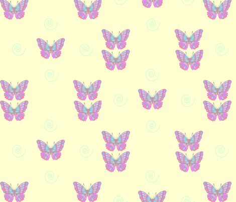 BUTTERFLYye fabric by puffin98 on Spoonflower - custom fabric