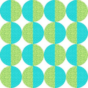Blue-Green Circles